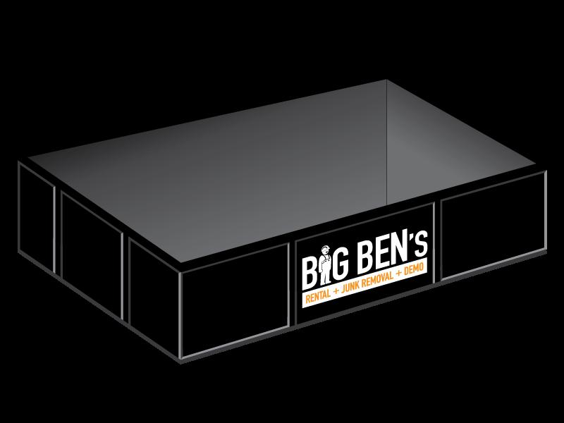 Big Ben's Junk Removal :: 8 yard bin